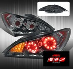 JDM Sport FULL LED REPLACEMENT TAIL LIGHTS - SMOKE