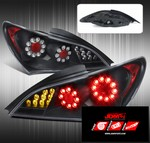 JDM Sport FULL LED REPLACEMENT TAIL LIGHTS - BLACK