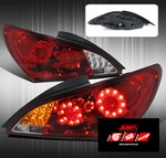 JDM Sport FULL LED REPLACEMENT TAIL LIGHTS - RED