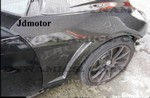 Hyundai Genesis Coupe ABS Dynamic Carbon Fiber Fenders 2010 - 2013