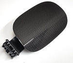 Carbon House Kia Stinger Carbon Fiber Fuel Door