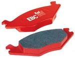 Front Brembo EBC Red Stuff Brake Pads for Genesis Coupe 2010-2016