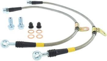 Stoptech Stainless Steel Brake Lines - FRONT - Genesis G70