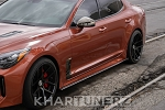 Kingsmen Carbon Fiber Sideskirts - 2018 Kia Stinger all models