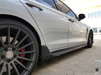 M&S Side Skirts / Sideliners -  2018+ Genesis G70