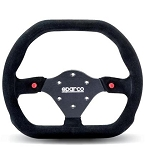 Sparco 310X260 Competition Black Suede Steering Wheel 310mm