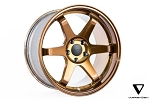 Varrstoen SPECIAL ES2 18X9.5 +17 / 18x10.5 +17 5X114.3 Gloss Transparent Copper