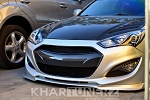 VIS Racing 2013-2016 Genesis Coupe Carbon Fiber Front Grill