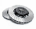 WP Pro Front 350x30mm 2pc Brake Rotor Upgrade 2018+ Kia Stinger GT