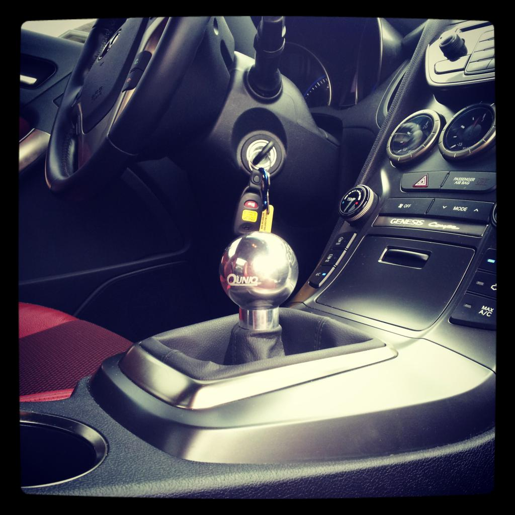 UNIQ PERFORMANCE Short Shifter Genesis Coupe 2010 - 2015