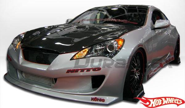 Genesis Coupe Hot Wheels Front Bumper 2010 - 2012