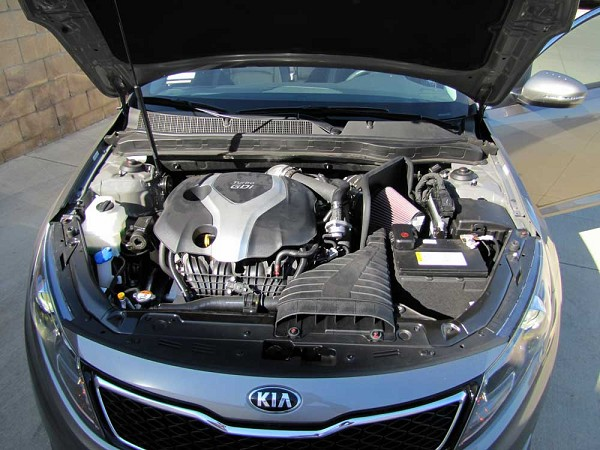 Kia Optima TURBO K&N TYPHOON Intake (2011-2014)
