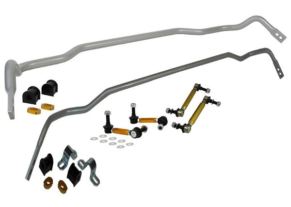 Whiteline 24mm Front Sway Bar & Rear 18mm Sway Bar w/ Endlinks Kia Stinger 2017-2019