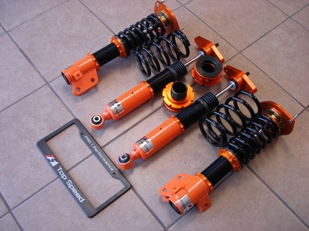 Top Speed Pro 1 Coilovers Genesis Coupe 2010 - 2014