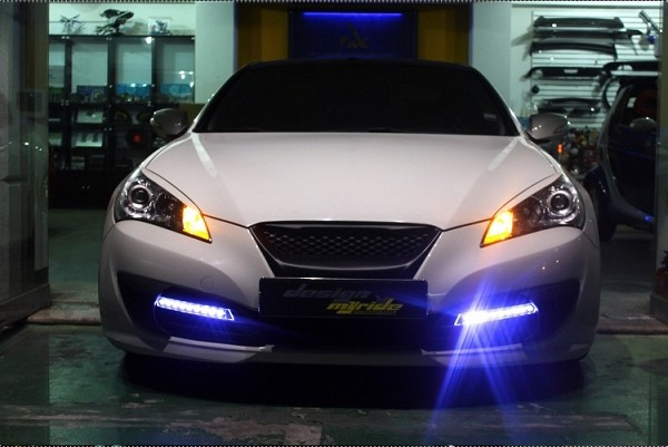 MYRIDE FOG LIGHT BEZELS GENESIS COUPE 2010 - 2012