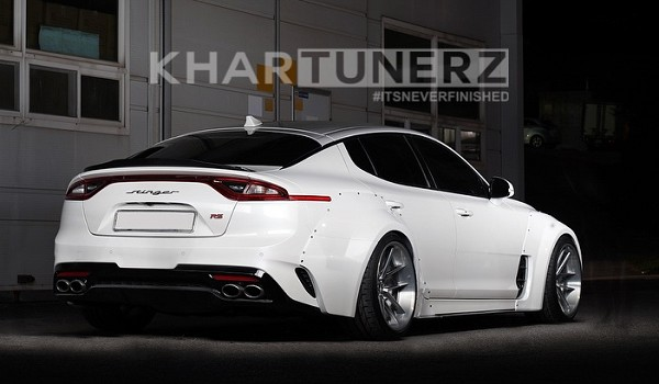 Adro Solus Widebody Kit - Kia Stinger 2018-2020