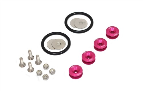 BLACKWORKS QUICK RELEASE FASTENERS SET (PINK)
