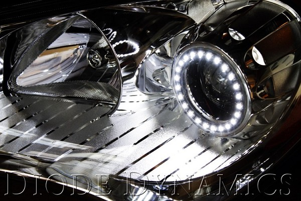 2010-2013 Genesis Coupe SMD Angel Eyes - White
