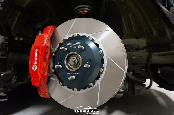 Girodisc 2 Piece Slotted Front Rotor Kia Stinger - Brembo ONLY