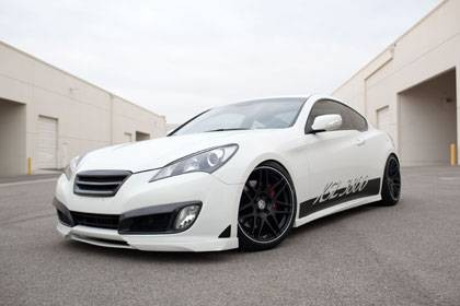 Genesis Coupe KSL POLYURETHANE AERO FULL LIP KIT 2010 - 2012